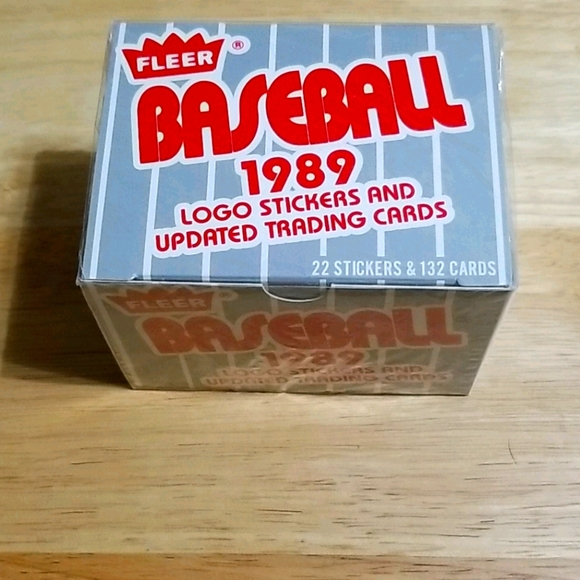1989 Fleer Updated complete factory sealed set